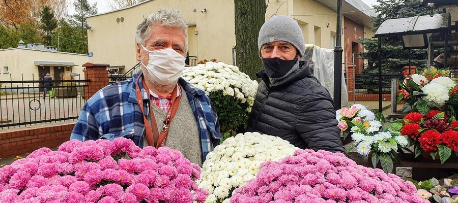 Roman Kałuski z synem Bogusławem są wdzięczni za pomoc