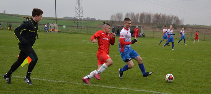 Na boisku w Turznicy Płomień wygrał 1:0 z Kormoranem