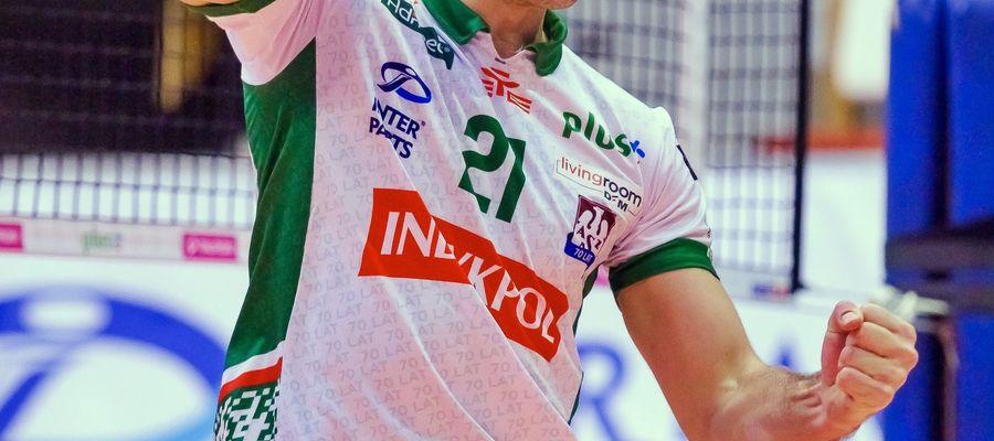 Wojciech Żaliński już nie pierwszy raz w tym sezonie odebrał statuetkę dla zawodnika meczu (MVP), ale najważniejsze, że punkty zostały w Olsztynie
