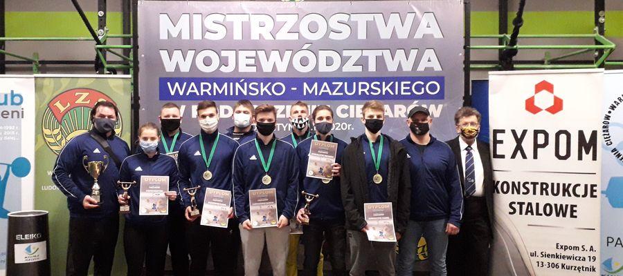 Kurzętniccy zawodnicy i trenerzy w Olsztynie