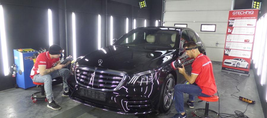 Auto detailing to  dopieszczania auta w każdym detalu — mówią Michał Żuryło i Maciej  Kałęka z Mazurek Premium Detailing