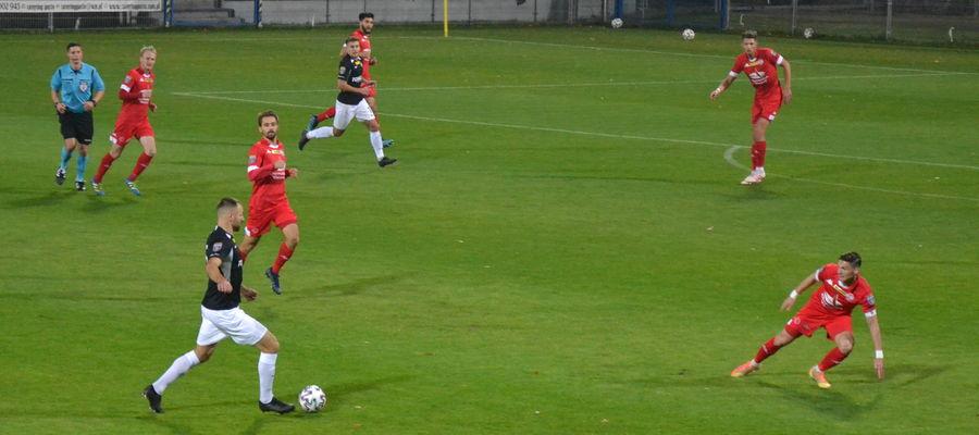 W piątek piłkarze ostródzkiego Sokoła przegrali w 1/16 Pucharu Polski z Wartą Poznań