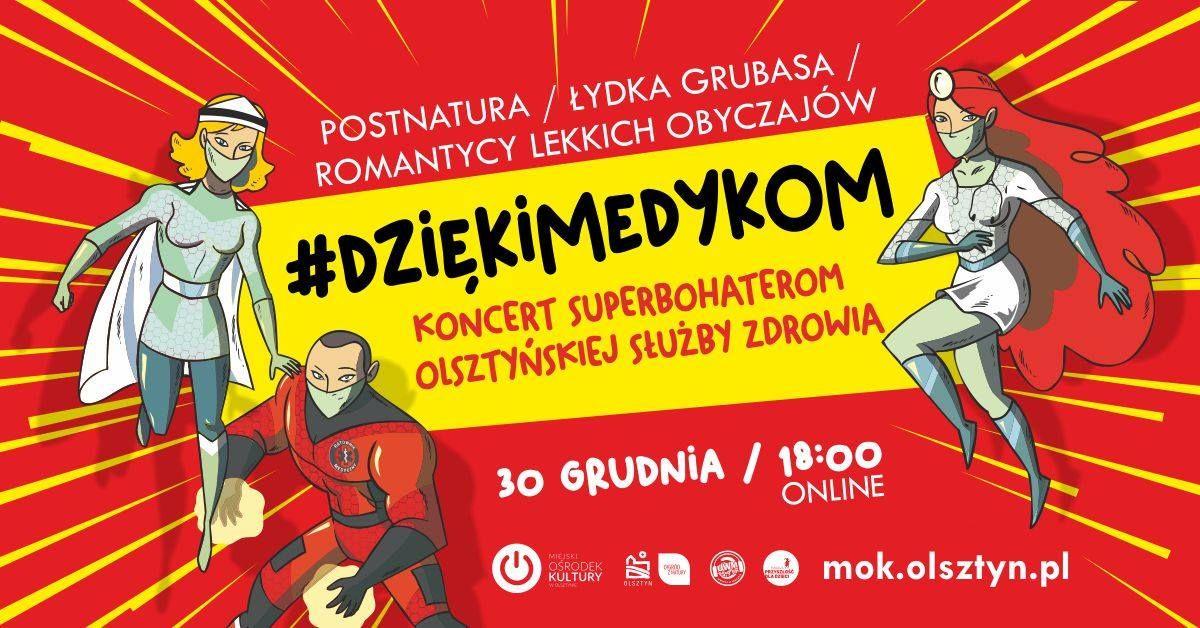 #DziękiMedykom. Wyjątkowy koncert  online - full image