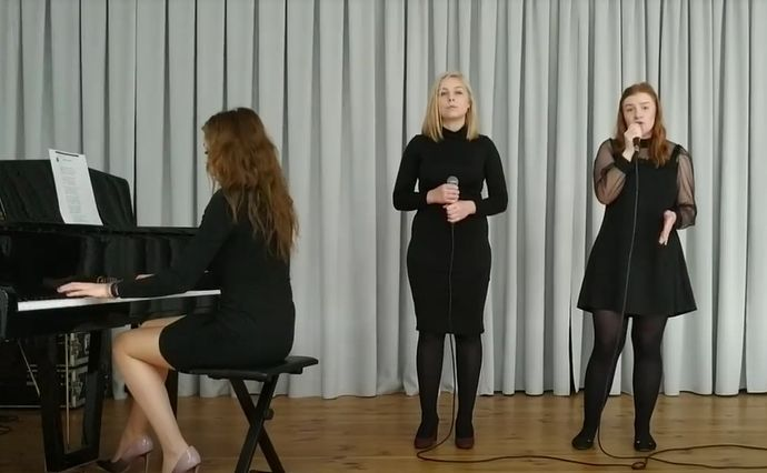 Dziewczęce trio wyśpiewało pierwsze miejsce w ogólnopolskim konkursie