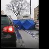 Tragedia na ul. 1 Maja. Nie żyje kierowca dostawczego busa