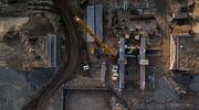 Rok na budowie kanału żeglugowego