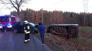 Siedem osób poszkodowanych. W akcji m. in. helikopter LPR [ZDJĘCIA]