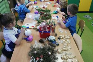 Warsztaty Bożonarodzeniowe w Szkole w Napiwodzie