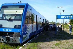 Do Orzysza po latach znów zawitają pociągi
