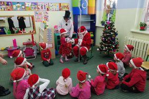 Mikołaj był u przedszkolaków z Żydowa