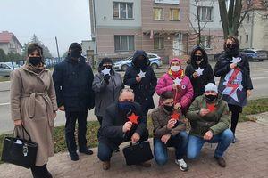Strajk Kobiet w Działdowie stanął przed policją