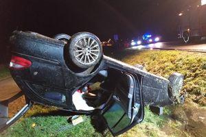 Śmiertelny wypadek na drodze S22
