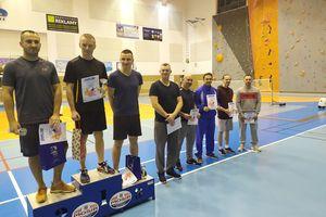 Turniej badmintona w hali Lega