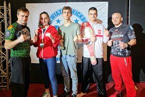 Ostatnie starty zawodników kickboxingu