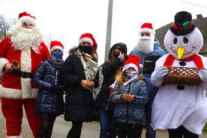 Mikołaj najpierw zawitał do Mikołajek