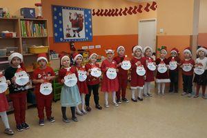 Mikołaj nie zapomniałteż o dzieciach z Przedszkola Miejskiego