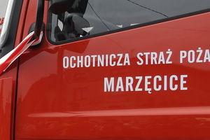 Ciekawa, przedświąteczna akcja strażaków z Marzęcic