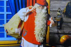 Życzenia od Świętego Mikołaja z Rovaniemi dla dzieci