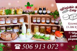 Wiejskie smaki Ewy w Świątecznym Jarmarku Gazety Olsztyńskiej – promujemy małych wytwórców