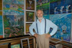 Nie żyje Alfons Kułakowski, malarz z Witoszewa
