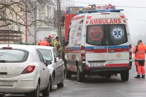 Tragiczny pożar w Olsztynie. Nie żyje mężczyzna