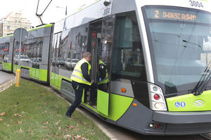 Budowa nowej linii tramwajowej. Od jutra nie przejedziesz przez ul. Wańkowicza w Olsztynie