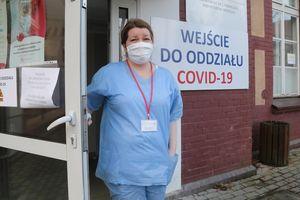 Barbara Miłośnicka, pielęgniarka z olsztyńskiego oddziału covidowego: Trzeba zachować spokój i życzliwość. Wtedy wygramy [ROZMOWA]