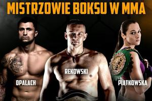 Opalach, Rekowski i Piątkowska w MMA. Na gali Najmana [WYWIAD]