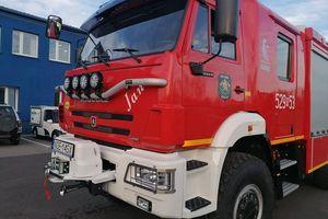 Druhowie z Mazur mają nowy samochód pożarniczy