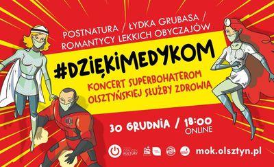#DziękiMedykom. Wyjątkowy koncert  online