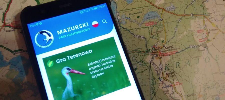 Dzięki aplikacji można m.in. zaplanować rekreacyjny spacer czy wycieczkę
