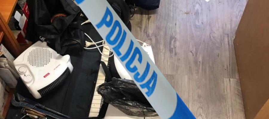 Funkcjonariusze odzyskali część skradzionych przedmiotów