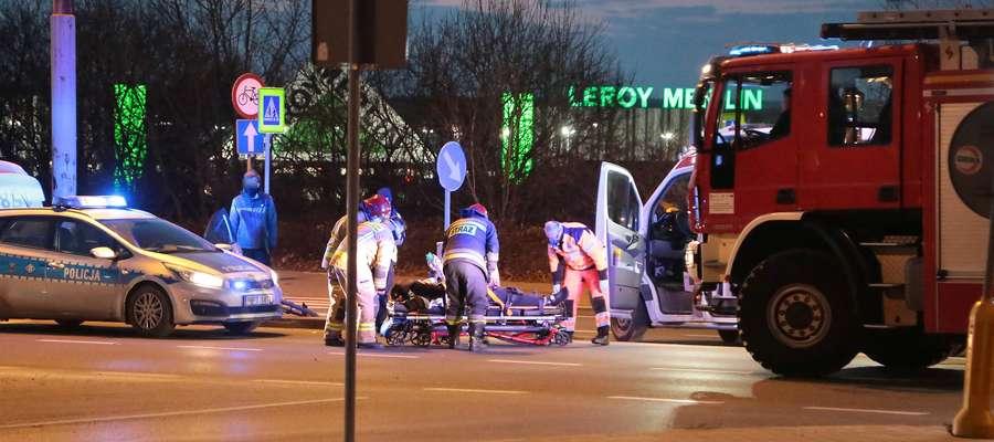Na przejściu, na którym niemal dwa lata temu zginęła młoda dziewczyna, ostatnio potrącony został rowerzysta