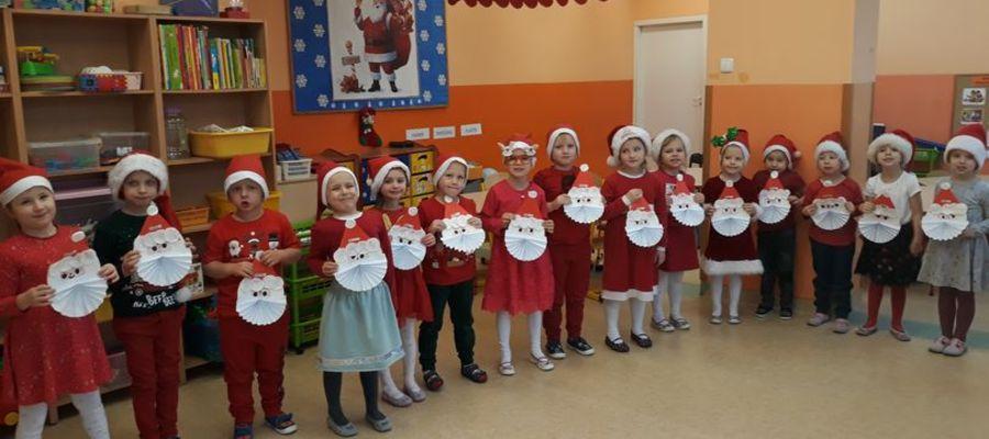 Przedszkolaki czekały na Mikołaja