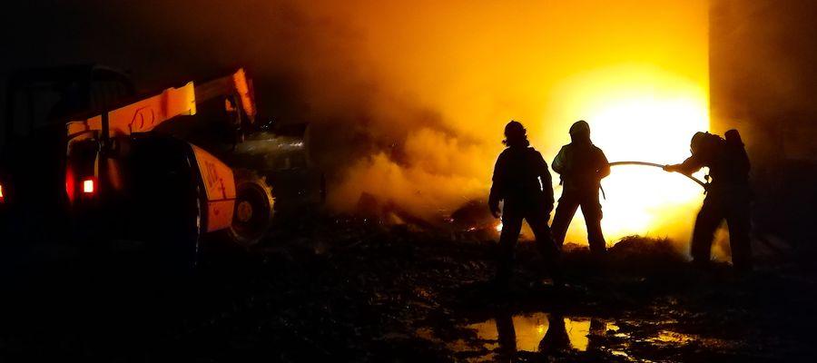 Pożar w Wawrowicach