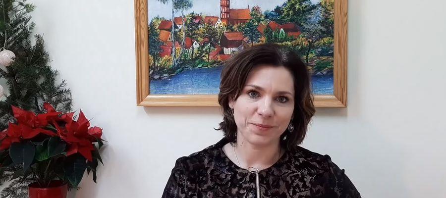 Jolanta Maciejewska, dyrektor szkoły w Klebarku Wielkim