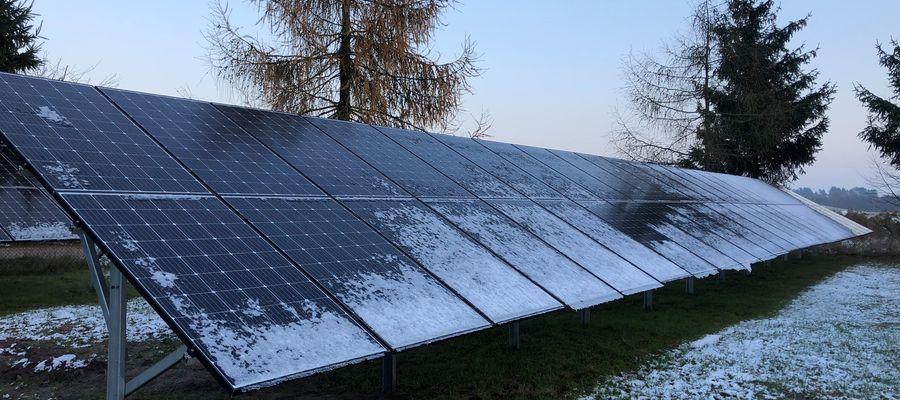 Między innymi oczyszczalnia ścieków w Dąbrównie będzie zasilana energią odnawialną