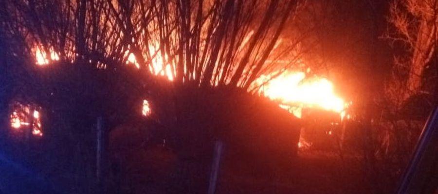 Pożar w Ignalinie