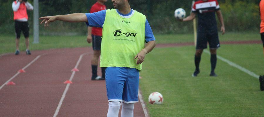 Mateusz Wierzbowski, grający trener Cresovii Górowo Iławeckie