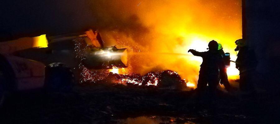 Akcja gaśnicza w Wawrowicach