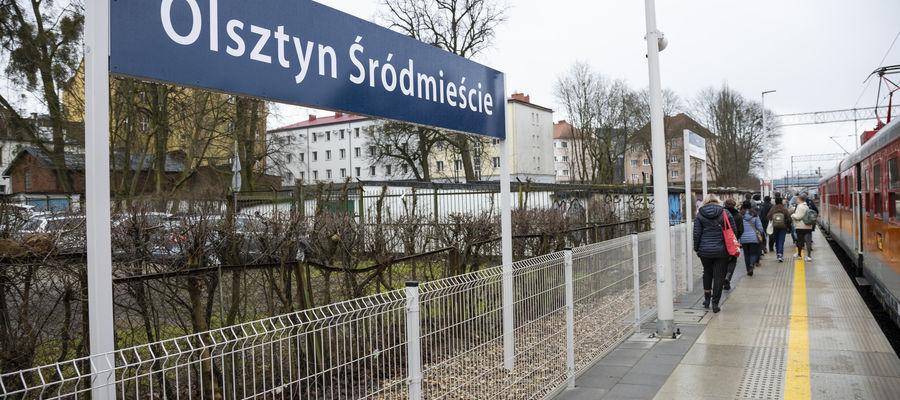 Nowy przystanek Olsztyn Śródmieście zapewnia mieszkańcom lepszy dostęp do pociągów