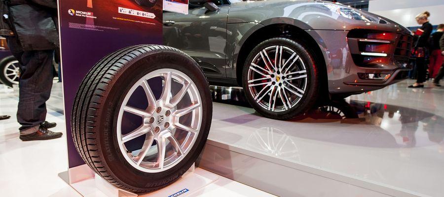 Produkowana w Olsztynie opona opona MICHELIN Latitude Sport do Porsche Macan