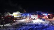 Pożar na terenie ogrodów działkowych. Straty na 37 tys. zł!
