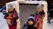 Śniegowe cudeńka naszych milusińskich