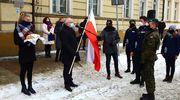 Wojskowa salwa w 101 rocznicę powrotu Nowego Miasta do Macierzy