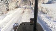 Nidzicka za zdjęcie: droga Nidzica-Waszulki