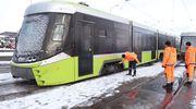 Do Olsztyna trafiły nowe tramwaje, ale na jazdę nimi jeszcze poczekamy [ZDJĘCIA]