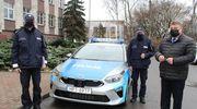 Nowy radiowóz dla elbląskiej policji [VIDEO]