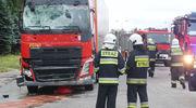 Ciężarówki i kolizje z ich udziałem w Działdowie i Lidzbarku