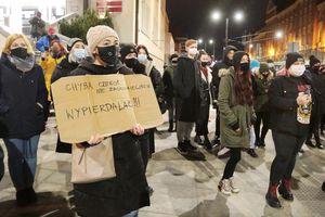 """""""Strajk Kobiet"""" w Olsztynie"""